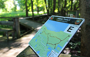 A trail map