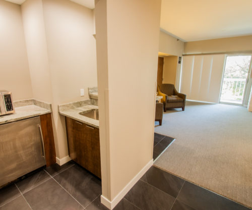 Room Kitchen Interior - Granite Countertops