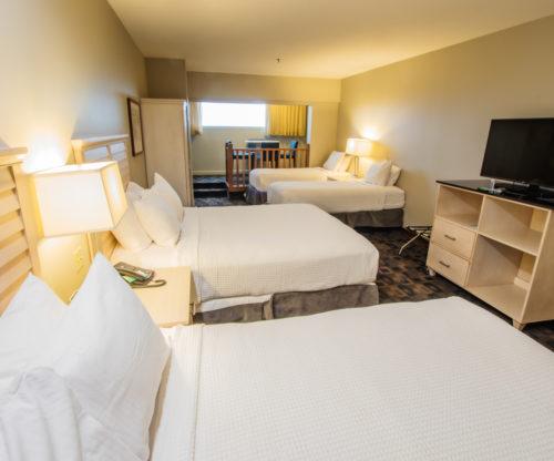 Four beds Room Interior