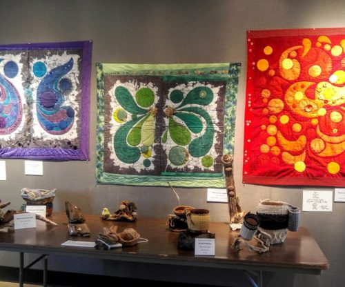 Art Gallery - Quilts and Wood Carvings