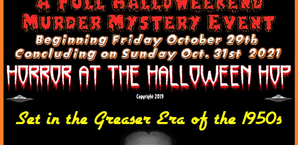 Halloween event announcement